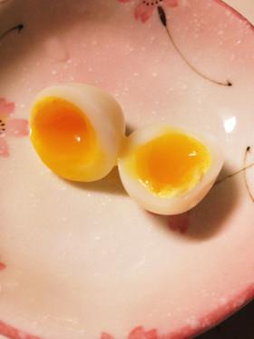 半熟うずらの卵