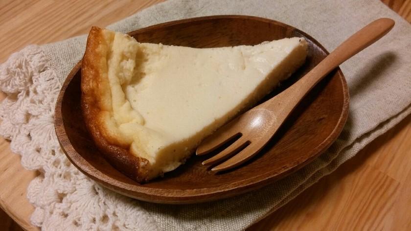 フライパンDEベイクドチーズケーキ♪