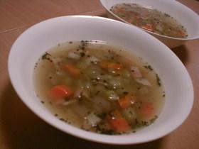 なんちゃってミネストローネ風スープ♪