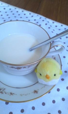 プリン味のハニージンジャーミルク