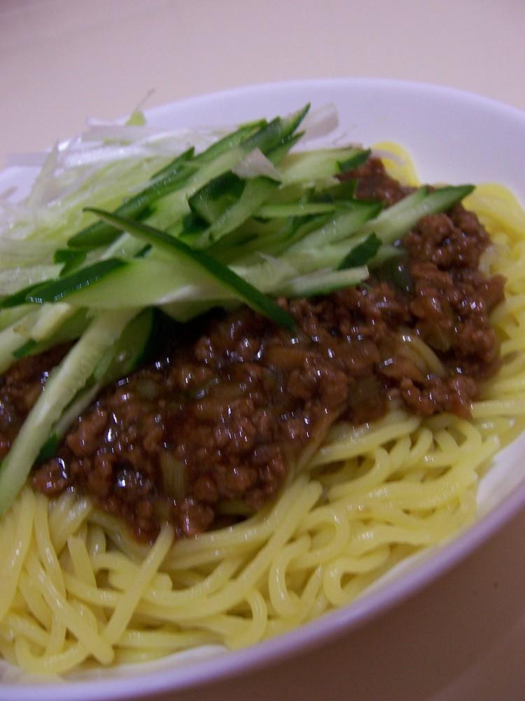 ☆挽肉たっぷり☆ジャージャー麺