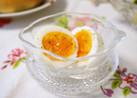 半熟卵のハーブソルトかけ