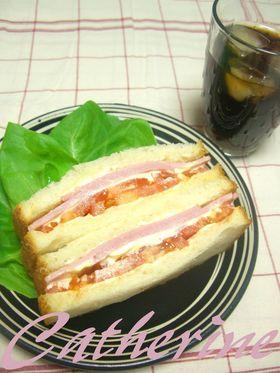 私の一番好きなサンドイッチ♪