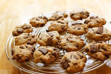 卵入り☆チョコチップクッキー