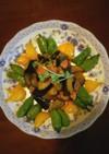 なすとベーコンと彩り野菜のオイスター炒め