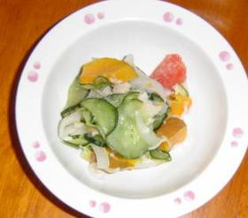 しんなり胡瓜のサラダ