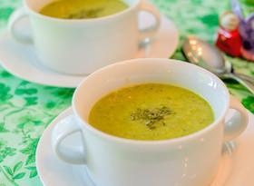 いんげんと人参のスープ