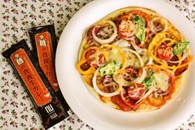簡単!仁丹の食養生カレーピザ