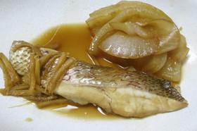 ☆鯛と玉ねぎとしょうがの炊いたん♪