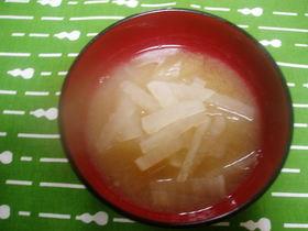 甘エビ味噌汁