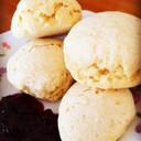 材料2つ*天ぷら粉でノンオイルスコーン