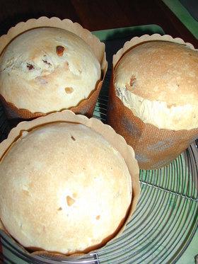 パネトーネ風ドライフルーツフルーツのパン