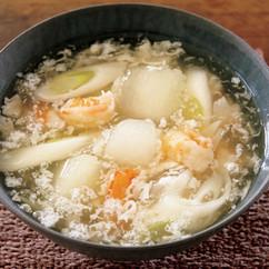 えびととうがんのとろとろスープ