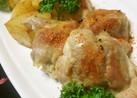減塩で✿鶏肉とじゃが芋の七味炒め✿
