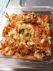 ☆鶏胸肉の作り置きサラダ☆の写真