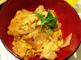 簡単!すき焼きのタレで作る親子丼♡