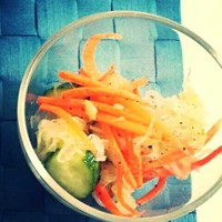 簡単♪余り野菜でザワークラウト