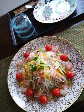 タイ風春雨サラダ~ヤムウンセン~