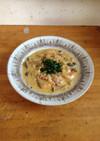 海老とキノコのクリーム煮