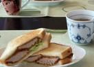 豚カツリメイク→カツサンド