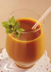 黄酸汁★爽やかオレンジジュース割り