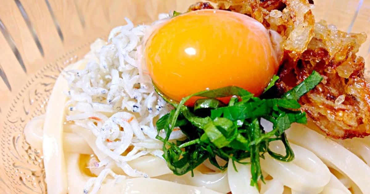 しらすとフライドオニオンのぶっかけうどん by AYACHIN* [クックパッド] 簡単おいしいみんなのレシピが249万品