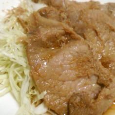 絶品☆漬ける生姜焼き