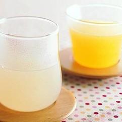 柚子(ゆず)くず湯+みかんくず湯