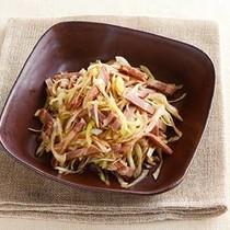ねぎと焼き豚のサラダ