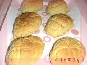 おからクッキーで♡簡単メロンパン