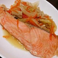 簡単♥鮭のちゃんちゃん焼き
