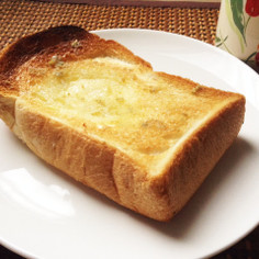 柚子胡椒バター☆トースト