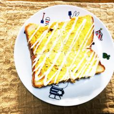 し〜っとりふわふわなエッグトースト☆