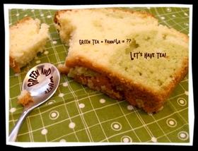 抹茶マーブルケーキ