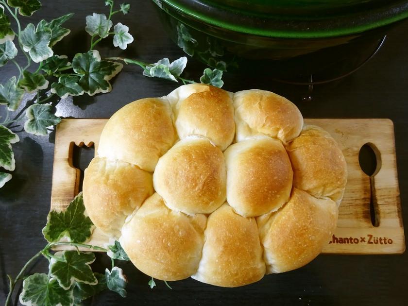 ストウブで、 もっちりパン♪