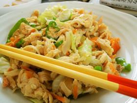 簡単♪沖縄食堂仕様の麩チャンプルー
