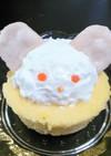 離乳食後期!うさぎさんのケーキ