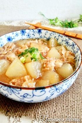 冬瓜と豚バラのとろっと♡中華煮
