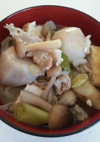 豚肉の芋煮(味噌味)