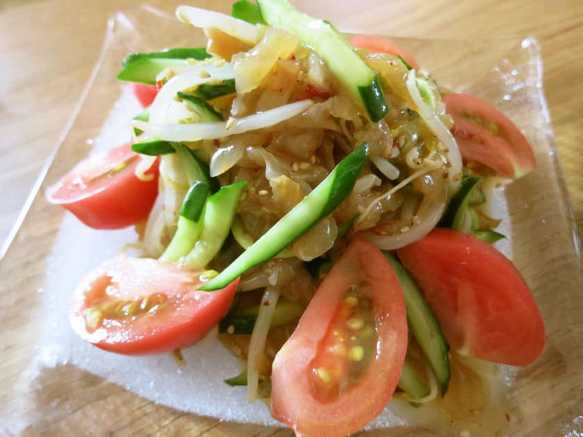 中華サラダ~マヌカ風味~