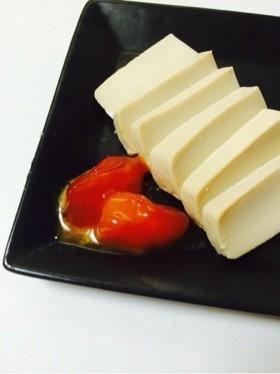 *豆腐と卵黄の味噌漬け*