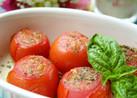 ♡超簡単オーブントースターで焼きトマト♡