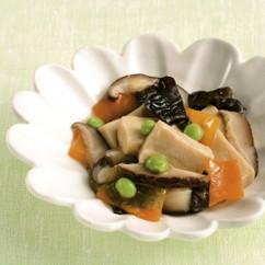 高野豆腐の五目煮