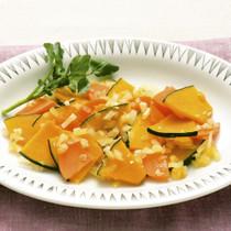 かぼちゃの蒸し煮サラダ