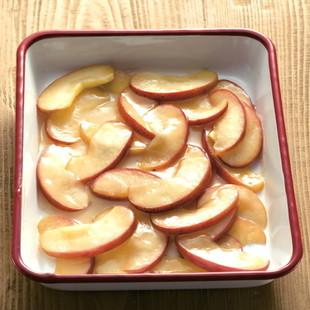 りんごの薄くずあん