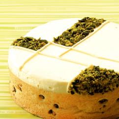 レアチーズのタルト
