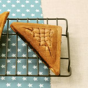 三角クッキーダブルチョコメロンパン