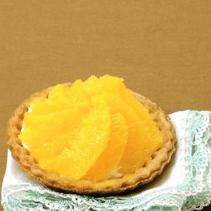 オレンジとヨーグルト生クリームタルト