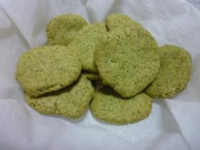 茶葉まるごと☆抹茶クッキー
