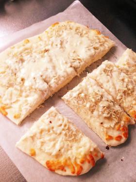 発酵なし!簡単ふわふわしらすピザ